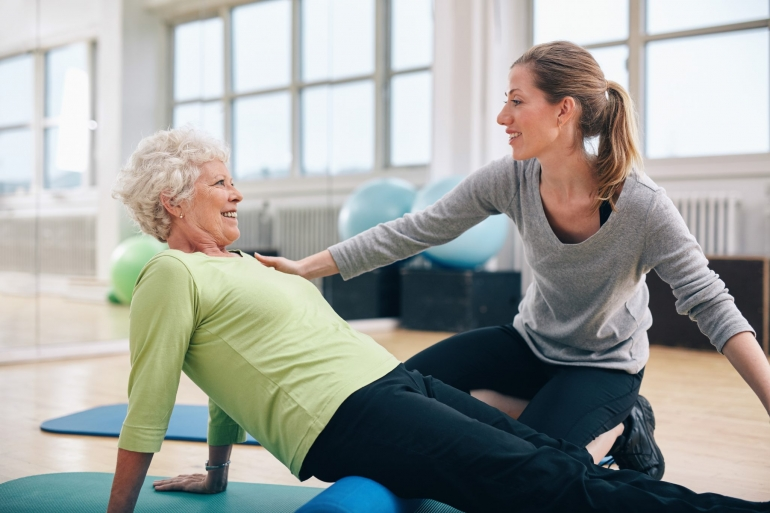 Terceira Idade e o Método Pilates