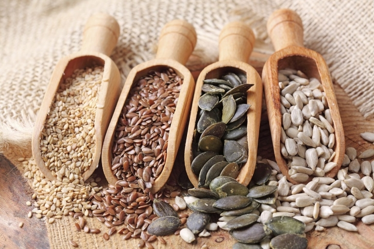 O poder das sementes na alimentação